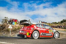Rallye Spanien-Katalonien 2017: Citroen-Sieg durch Kris Meeke