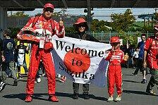 Formel 1 - Bilder: Japan GP - Die verrücktesten Formel-1-Fans in Suzuka 2017