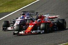 Formel 1 Japan 2017: So pflügten Räikkönen & Bottas durchs Feld