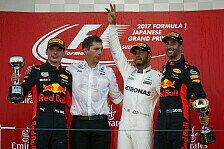 Formel 1 - Bilder: Japan GP - Podium