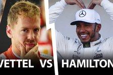 Formel 1 2017 - Hamilton vs. Vettel: Erster Matchball in Austin