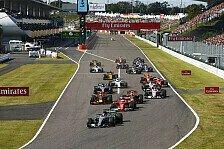 Formel 1, Japan GP erneuert Vertrag: Suzuka bleibt im Kalender