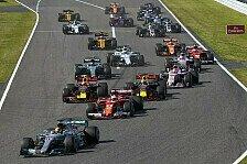 Formel 1 Japan 2018 live: RTL, ORF, Live-TV, Livestream