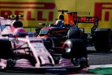 Formel 1 USA 2017: Force India bittet Red Bull zum Austin-Rodeo