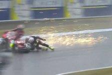 MotoGP Motegi: Crutchlow trifft Lorenzo, keiner will Schuld