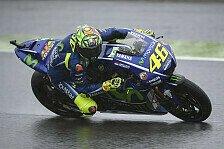 Valentino Rossi stürzt in Motegi: Ich hatte echt Glück