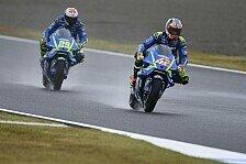 Suzuki in Motegi endlich in Form: Das sagen Iannone und Rins