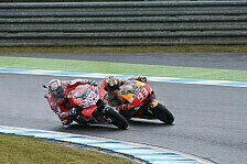 MotoGP - Video: Fight Marquez vs. Dovizioso: Die Highlights aus Motegi 2017