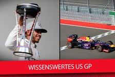 Formel 1 - Video: Formel 1 USA 2017: Die Top-Fakten zum Rennen in Austin