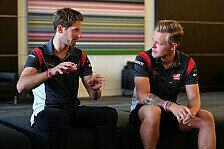 Drama-Romain und Aggro-Kevin: Haas lässt Fahrer Typen sein