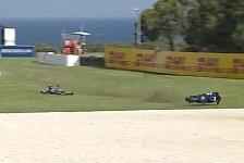 Maverick Vinales: Highspeed-Crash in FP2 von Phillip Island