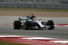 Formel 1, USA 2017: Lewis Hamilton mit Bestzeit im 1. Training