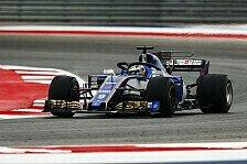 Formel 1 Mexiko 2017: Ericsson erklärt Sauber-Stärke in Austin