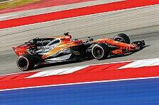 McLaren und Fernando Alonso: Vierte Kraft beim USA GP in Austin