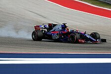 Formel 1 Austin: Brendon Hartley nach Premiere beeindruckt