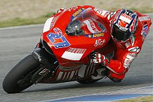MotoGP - Rennen, MotoGP: Stoner schlägt Rossi