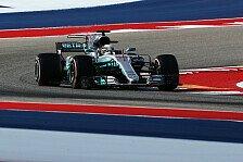 Formel 1, Austin 2017: Neuer Streckenrekord für Lewis Hamilton