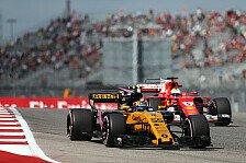 Formel 1, USA GP 2017: Carlos Sainz glänzt bei Renault-Debüt