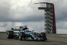 Valtteri Bottas: In Austin erneut nur Mercedes-Schattenmann