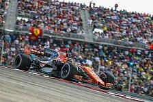 Fernando Alonso: Austin-Performance dank Frontflügel-Update