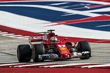 Formel 1 Austin 2017: Sebastian Vettel wittert USA-Sieg