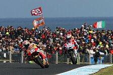MotoGP Phillip Island: Dovizioso am Boden - Fehler, keine Pace