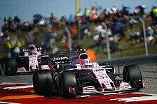Formel 1 2018 vor Pink-Battle - Perez: Den Druck hat Ocon