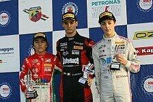 Formel 4 Italien in Monza: Doppel-Podium für Mücke Motorsport