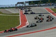 Formel 1 USA 2018: Pirelli nennt Reifen für Rennen in Austin