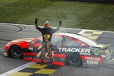 NASCAR Kansas: Siebter Saisonsieg für Martin Truex Junior