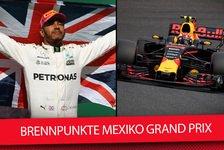 Formel 1 Mexiko 2017: Hamiltons WM-Elfmeter & alle Brennpunkte
