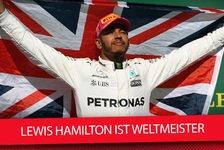 4. WM-Titel: Lewis Hamilton zieht mit Sebastian Vettel gleich