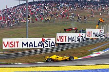 Formel 1 - Ein schwarz-weiß kariertes Ziel für die Gelben