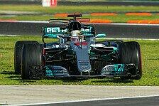 Formel 1, Mercedes: Lewis Hamilton in Mexiko im Pirelli-Engpass