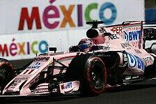 Force India bleibt hart: Racing für Perez/Ocon tabu - noch