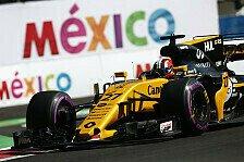 Formel 1 Mexiko: Renault überzeugt im Kampf gegen Force India