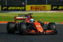 Formel 1 Mexiko: Fernando Alonso sieht McLaren als bestes Auto
