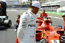 Formel 1 Mexiko: Hamilton: Hätte Pole auch ohne Fehler verpasst