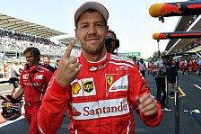 Sebastian Vettel 'explodiert' in Mexiko: 50. Formel-1-Pole