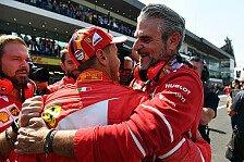 Formel 1: Ferrari vergibt beide WM-Titel, Vettel trotzdem stolz