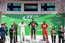 Formel 1 - Bilder: Mexiko GP - Podium