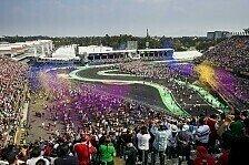 Formel-1-Kalender: Mexiko bleibt, Deutschland so gut wie raus