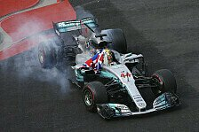 Formel 1 TV Quoten Mexiko: Quoten-Plus bei Hamilton-Party