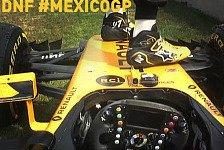 Formel 1 Mexiko: Hülkenberg in Gefahr, Renault gesteht Fehler
