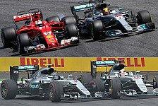 Formel 1, Mercedes: Hamilton vs Rosberg Witz gegen WM-Kampf '17