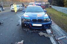 Nürburgring-Nordschleife: Massen-Unfall mit 14 Autos