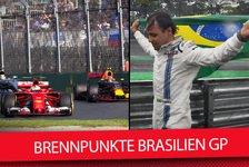 Formel 1 Brasilien: Regentanz von Verstappen? Die Brennpunkte