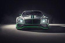 Bentley enthüllt neuen Continental GT3 für die Saison 2018