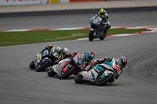 Moto2 & Moto3: GP-Distanz bei einigen Rennen verkürzt