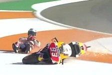 MotoGP Valencia 2017: Lorenzo mit FP2-Bestzeit, Marquez stürzt